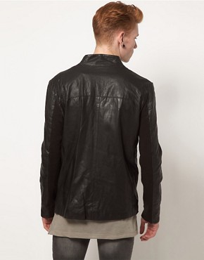 Image 2 ofMuuBaa Leather Jacket