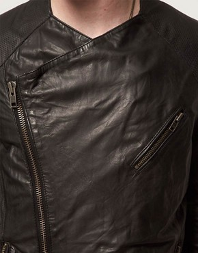 Image 3 ofMuuBaa Leather Jacket