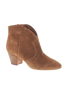 Image 1 ofAsh Jalouse Spiral Camel Western Boots