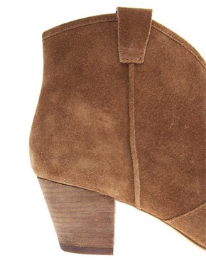 Image 2 ofAsh Jalouse Spiral Camel Western Boots