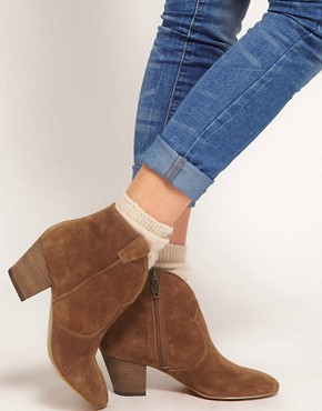 Image 3 ofAsh Jalouse Spiral Camel Western Boots