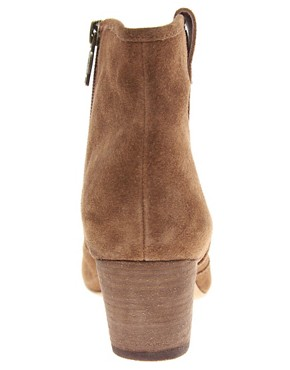 Image 4 ofAsh Jalouse Spiral Camel Western Boots