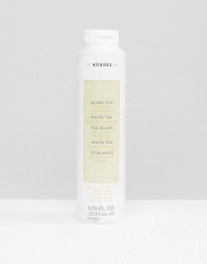 Image 1 ofKorres White Tea Facial Fluid Gel Cleanser 200ml
