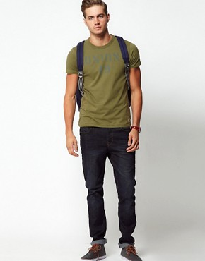 Image 4 ofJack &amp; Jones Railway T-Shirt