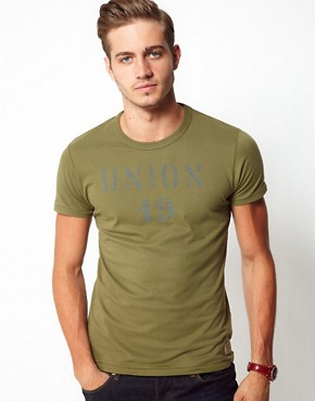 Image 1 ofJack &amp; Jones Railway T-Shirt