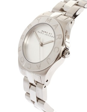 Image 4 ofMarc By Marc Jacobs Silver Bracelet And Dial Round Face Watch