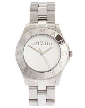 Image 1 ofMarc By Marc Jacobs Silver Bracelet And Dial Round Face Watch