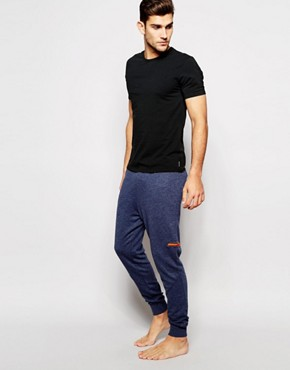 Calvin Klein Iron Strength Cuffed Joggers In Slim Fit