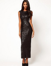 ASOS Maxi Dress in Sequin
