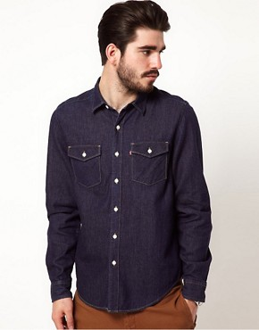 Image 1 ofLevis Denim Shirt
