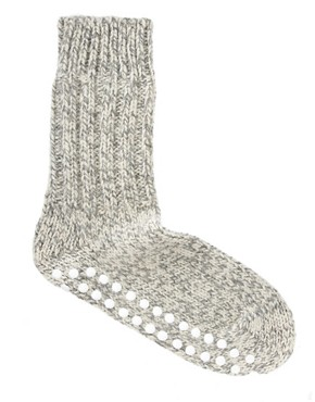 Image 4 ofHirsch Natur Marl Chunky Socks