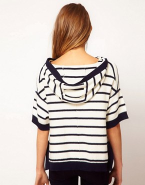 Image 2 ofJuicy Couture Reverse Striped Knit