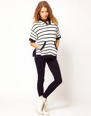 Image 4 ofJuicy Couture Reverse Striped Knit