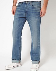Levi's Jeans 501 Straight Fit Broken Blues