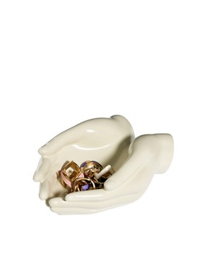 Image 1 ofASOS &#39;Hands&#39; Ring Dish