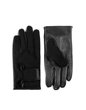 Image 1 ofCalvin Klein Leather Gloves