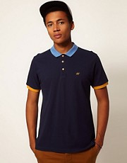Boxfresh Polo Shirt Contrast Collar Kailey