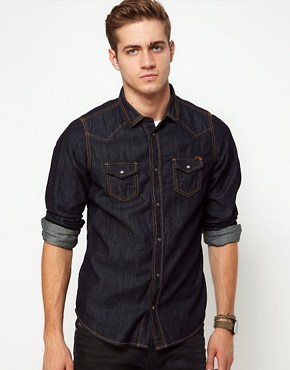 Image 1 ofDiesel Shirt Sonora Western