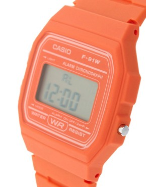Image 3 ofCasio F11-4A2EF Digital Orange Watch