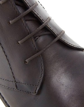 Image 2 of ASOS Chukka Boots in Leather