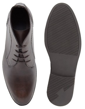 Image 3 ofASOS Chukka Boots in Leather