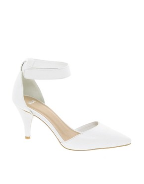 Image 1 ofASOS SONIC Pointed Heels
