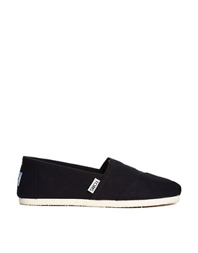 Image 1 ofTOMS Classic Canvas Flat Shoes