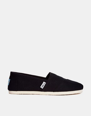Image 2 ofTOMS Classic Canvas Flat Shoes
