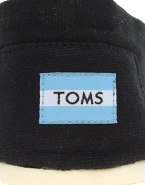 Image 4 ofTOMS Classic Canvas Flat Shoes