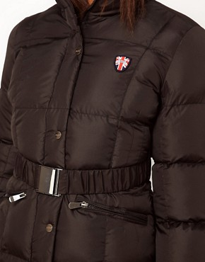 Image 3 ofPuffa Long Belted Jacket
