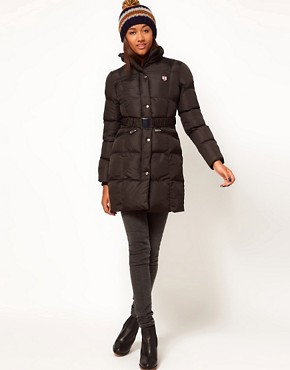 Image 4 ofPuffa Long Belted Jacket