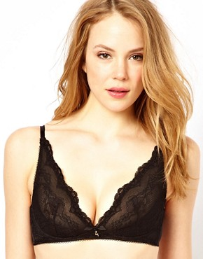 Image 1 ofGossard Non Underwired Deep V Plunge Bra