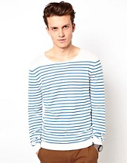 ASOS Stripe Scoop Neck Jumper