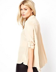 Oasis Pleat Back Shirt