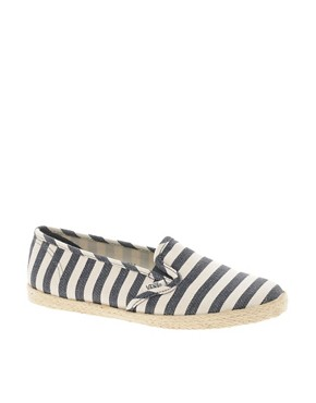 Image 1 ofVans Slip On Low Pro Nautical Stripe Espadrilles
