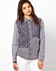 Chandelier Patchwork Shirt