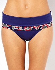 Panache Nancy Nautical Folded Bikini Pant