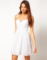 Lipsy Strapless Day Dress