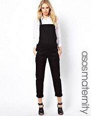 ASOS Maternity Twill Dungaree