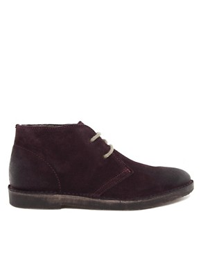 Image 4 of Selected Rugby Shearling Desert Boots