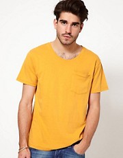 Nudie T-Shirt 1 Pocket Crew