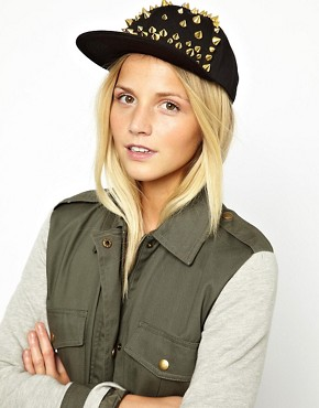 Image 1 ofASOS Studded Cap