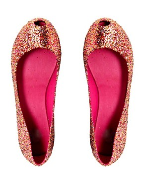 Image 3 ofMelissa Ultragirl Glitter II Ballet Flats