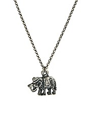 Jamie Jewellery Lucky Vintage Elephant Charm Necklace