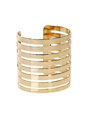 ASOS Cut Out Stripe Cuff Bracelet