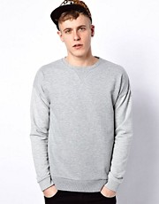 ASOS Sweatshirt With Dropped Shoulder