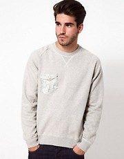 Denim Demon Sweat Pocket Crew