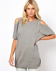 ASOS Cold Shoulder Jumper Dress