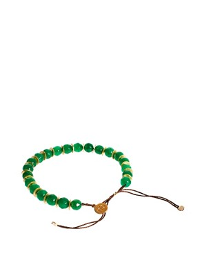 Image 2 ofNikki B Emerald Jade Friendship Bracelet