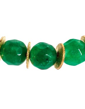 Image 4 ofNikki B Emerald Jade Friendship Bracelet